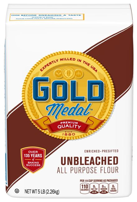 bag of Gold Medal Flour