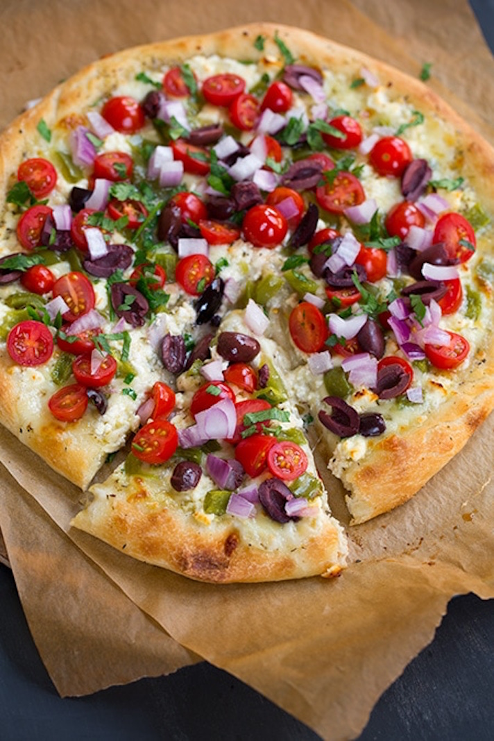 13 Easy Pizza Recipes That Make Great Dinners: Greek Pizza