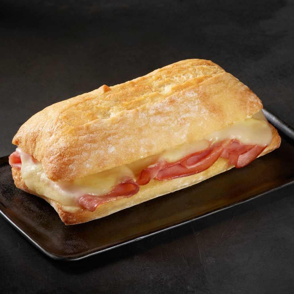 Ham and Swiss Panini