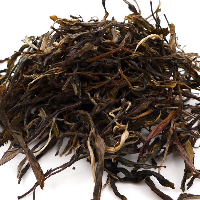 Crimson Lotus Tea Hekai Old Tree Autumn Loose-Leaf Sheng Raw Pu-erh Tea