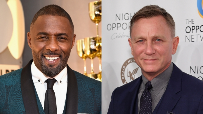 Idris Elba & Daniel Craig Took