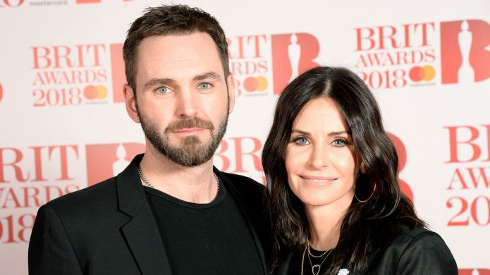 Photo of Johnny McDaid and Courteney