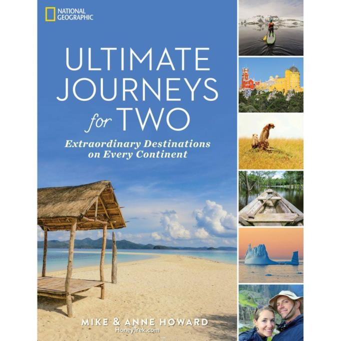'Ultimate Journeys for Two' book.