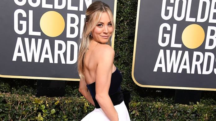Kaley Cuoco arrives at the 2019