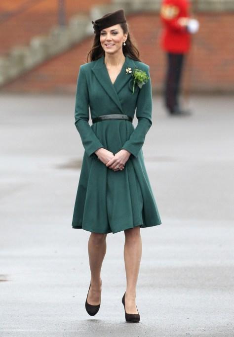Kate's Emilia Wickstead Coatdress