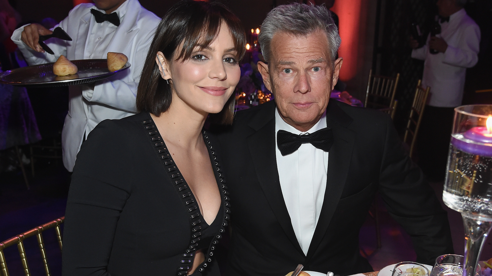 David Foster Gushes He Won The Lottery With Fiancee Katharine Mcphee Sheknows