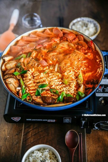 Korean Army base stew.