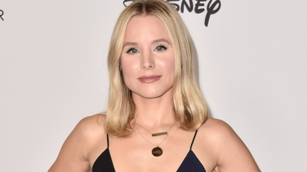 Kristen Bell attends Mickey's 90th Spectacular