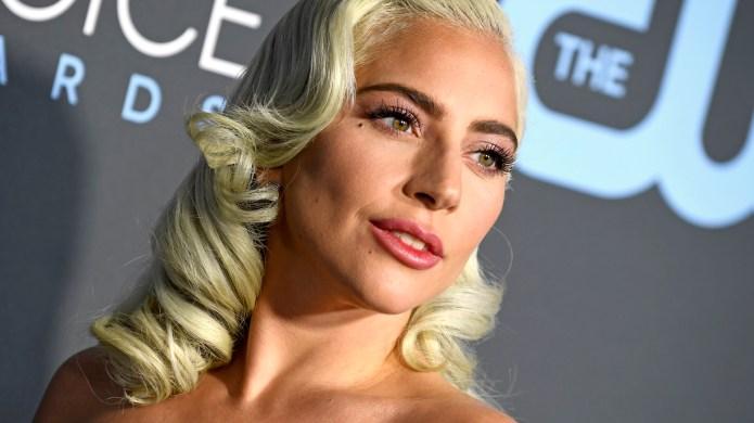 Lady Gaga arrives at the 2019