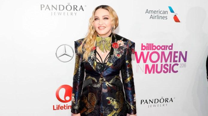 Madonna arrives at the 2016 Billboard