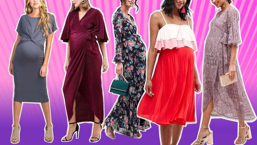 Cute Maternity Dresses for Valentine's Da