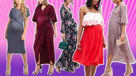 Cute Maternity Dresses for Valentine's Da
