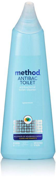 Method antibacterial toilet bowl cleaner.