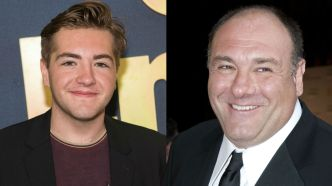 Photo of Michael Gandolfini and James