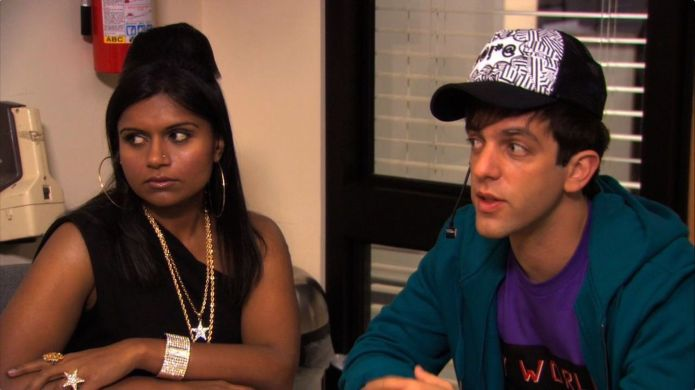 Photo of Mindy Kaling and B.J.