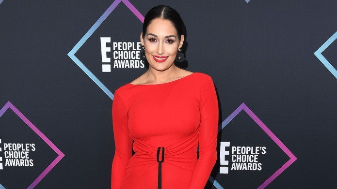 Nikki Bella arrives at the People's