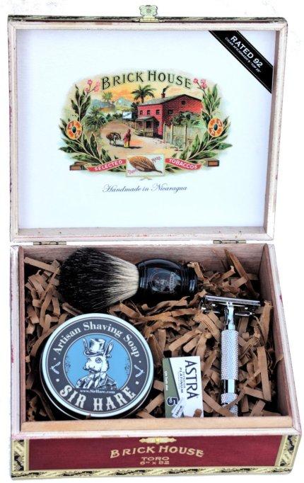 Old school shaving kit.