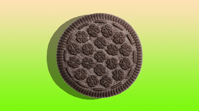 graphic of oreo cookie