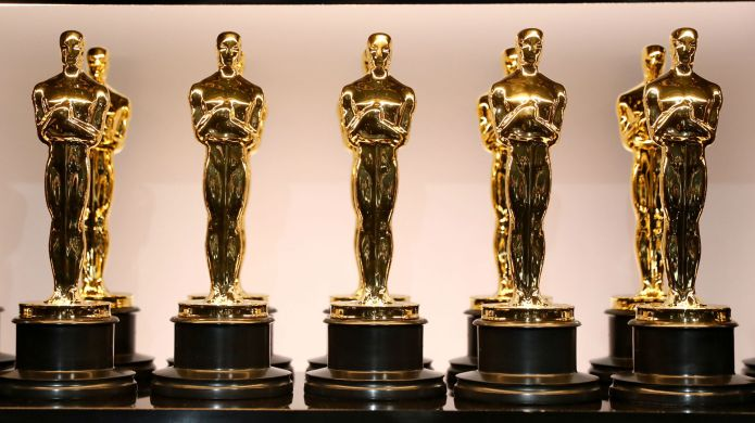 Photo of Oscar award statues