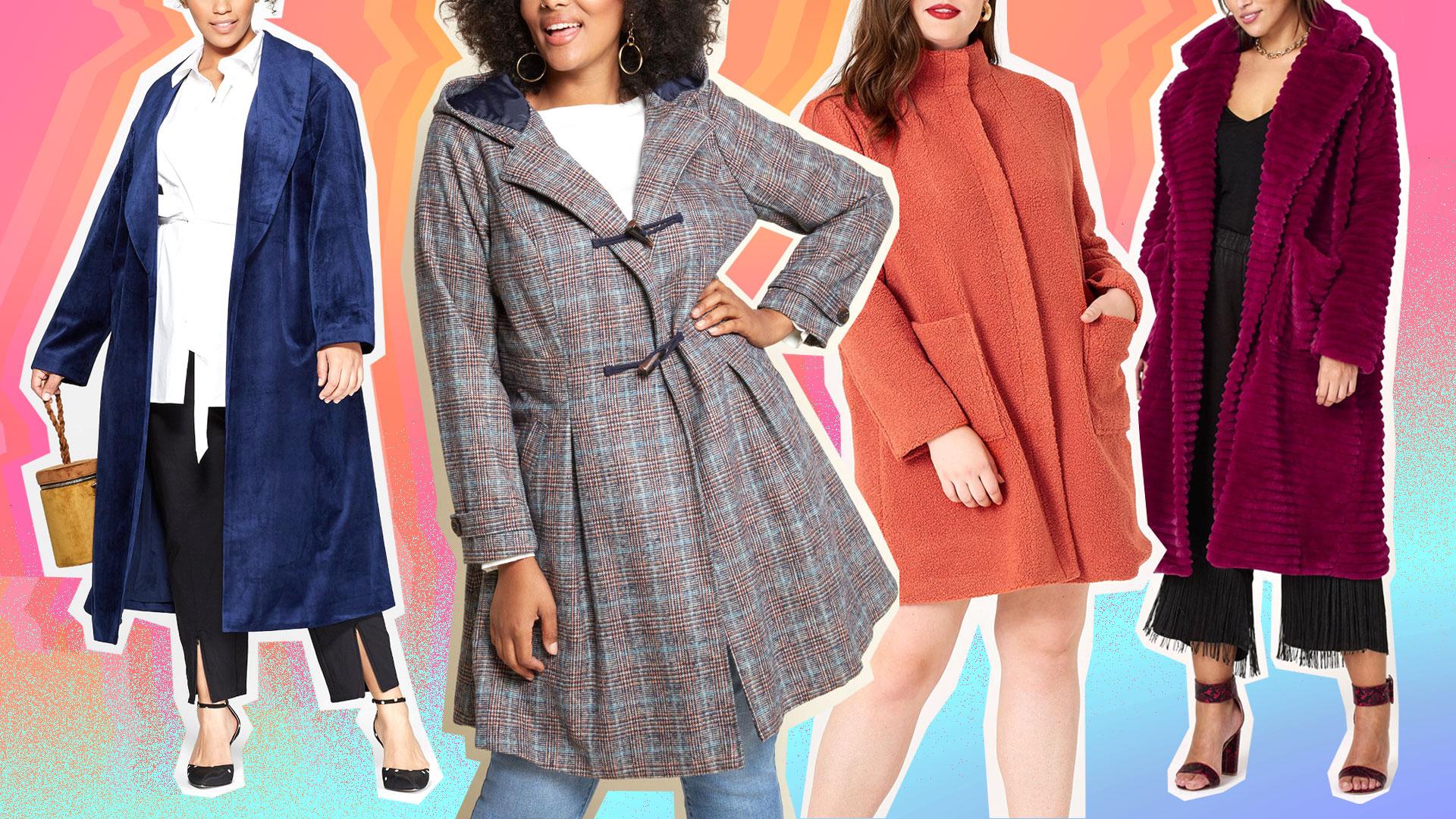 90e0a7428c Cute Plus-Size Coats Do Exist, & We Found Them – SheKnows