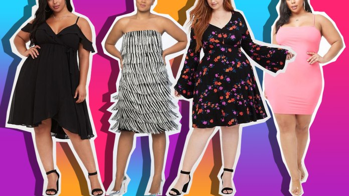 Sexy Plus-Size Dresses to Wear on