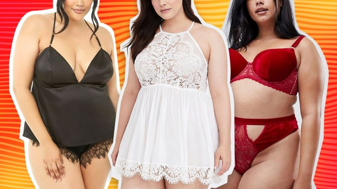 Sexy Plus-Size Lingerie to Shop for
