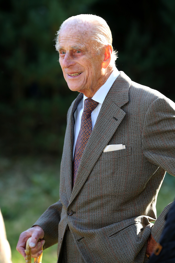 The Duke of Edinburgh, during a visit to Dersingham Bog Nature Reserve, on the Royal Sandringham Estate in Norfolk. PRESS ASSOCIATION Photo. Picture date: Monday September 30 2013. See PA story. Photo credit should read: Chris Radburn/PA Wire.