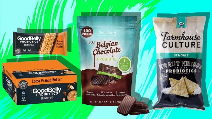 Probiotic snacks