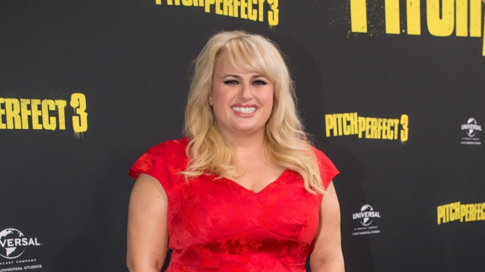 Rebel Wilson arrives at the Australian