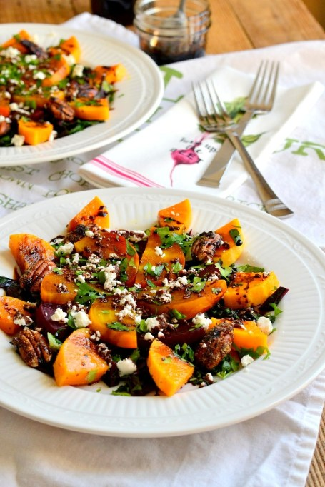 Roasted Beet and Butternut Squash Salad