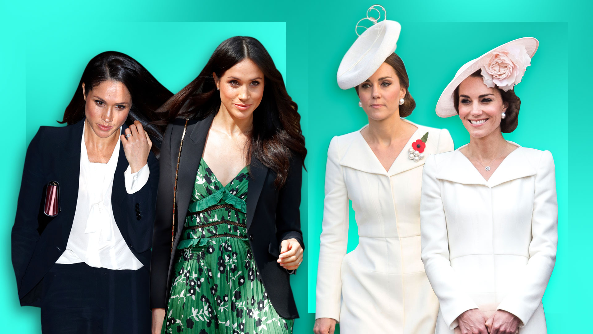 15 Clothing Items Meghan Markle Kate Middleton Love To Re Wear Images, Photos, Reviews