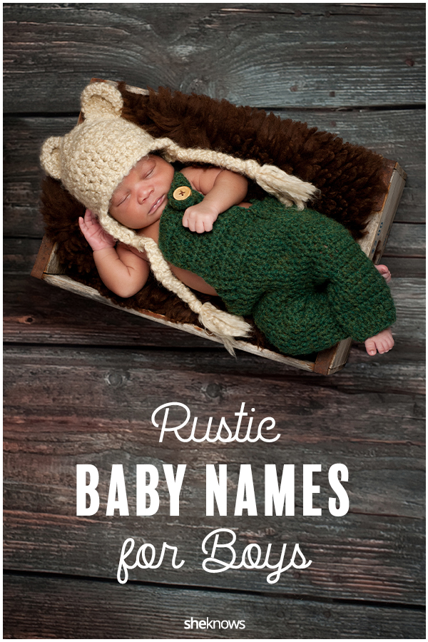 Rustic Baby Names for Boys