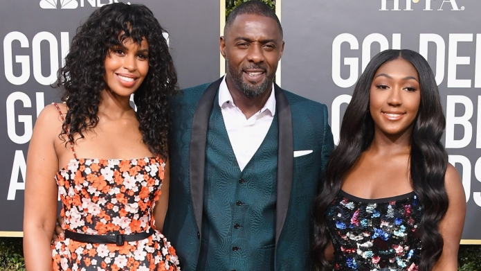 Sabrina Dhowre, Idris Elba and Isan