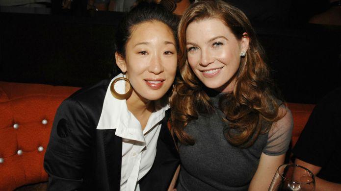 Photo of Sandra Oh and Ellen