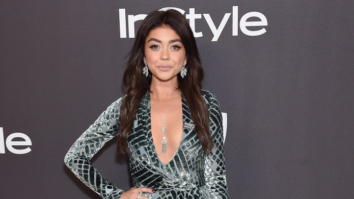 Sarah Hyland attends the InStyle And