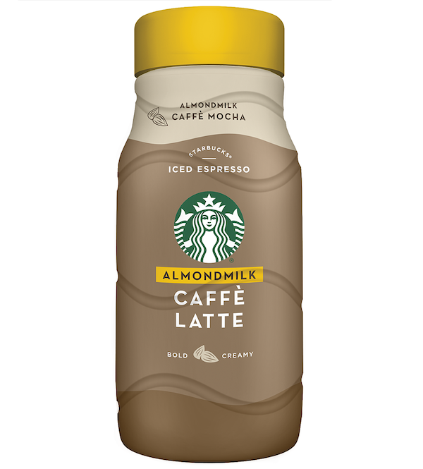 Starbucks Releases 2 New Almond Milk Latte Flavors