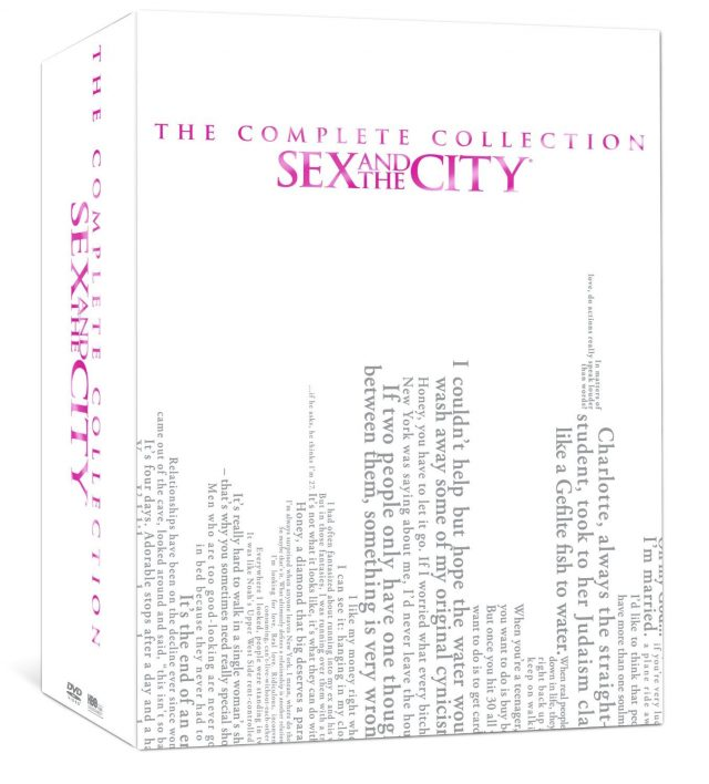'Sex and the City' complete series collection on DVD