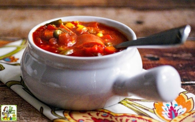 Slow cooker Spam soup.