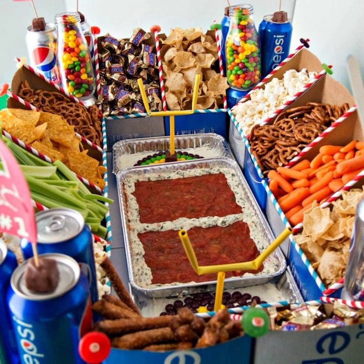 14 Super Bowl Snack Ideas That Are Better Than Actual Football: Snack Stadium