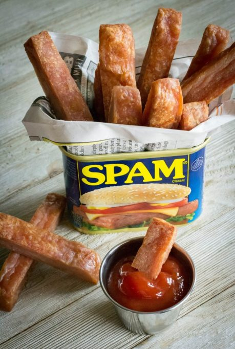 Spam fries.