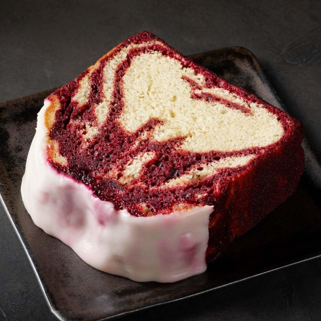 Starbucks red velvet loaf cake