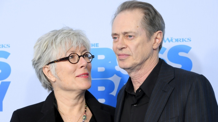 Jo Andres and Steve Buscemi attend