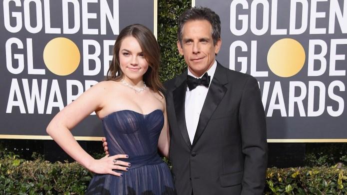 Ben Stiller Took His Daughter Ella