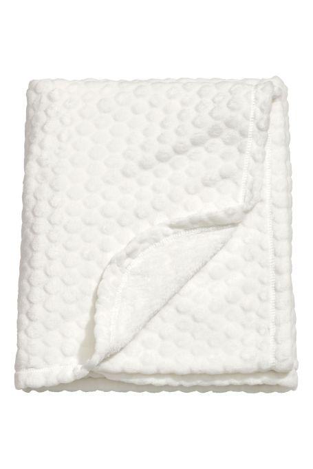 Textured Fleece Blanket
