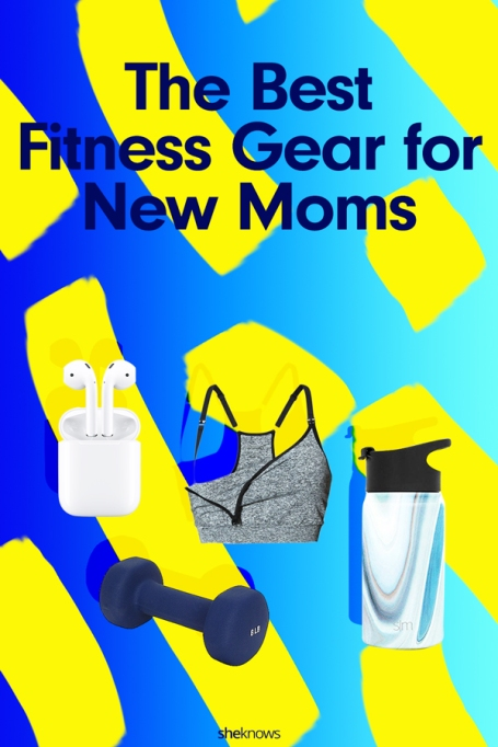 17 Must-Haves for New Moms Starting a Fitness Plan: Pin It!