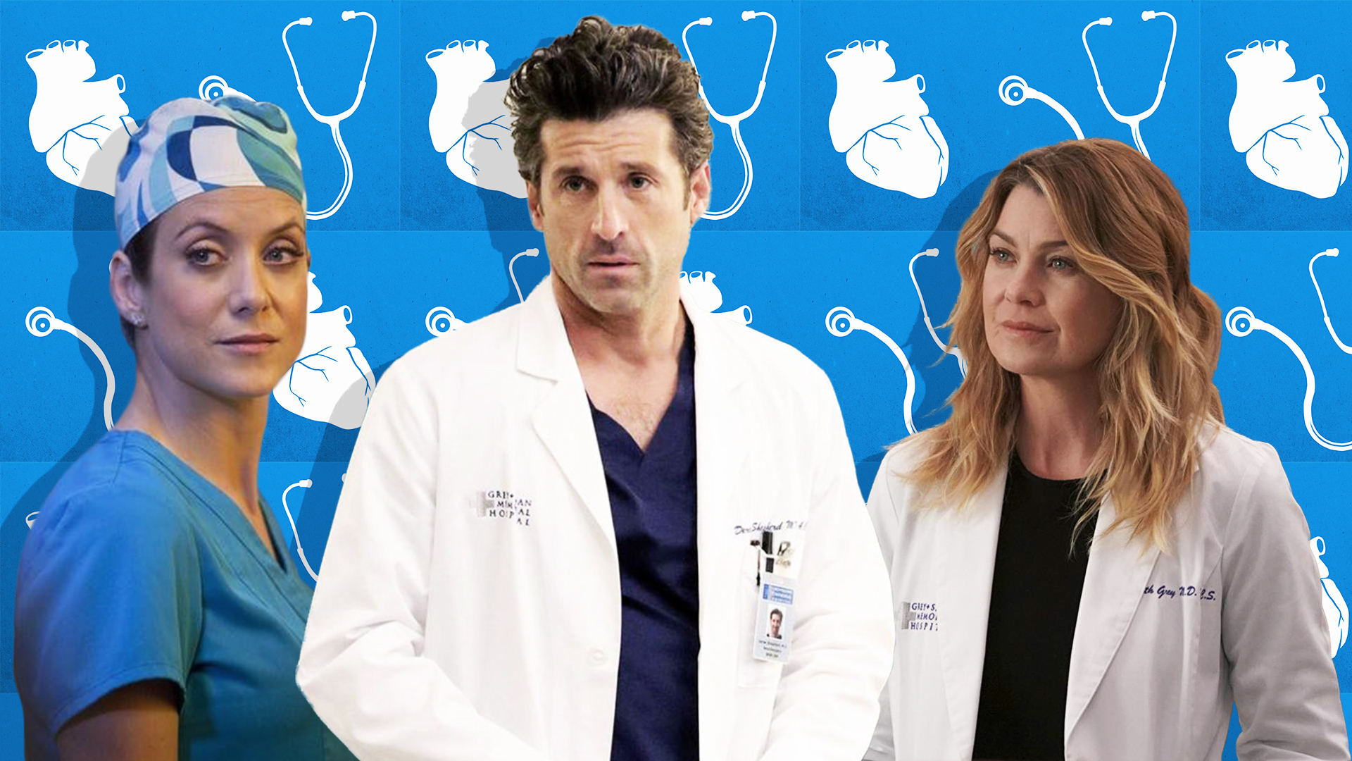 17 Grey's Anatomy Love Triangles That Totally McSteamed Up ...