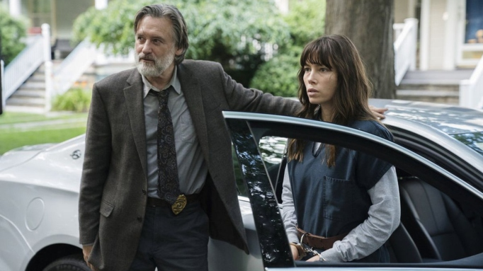 Bill Pullman and Jessica Biel in 'The Sinner.'