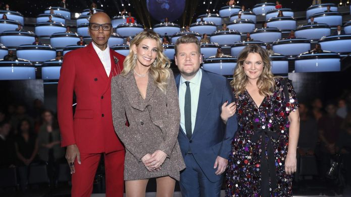 Ru Paul, Faith Hill, James Corden