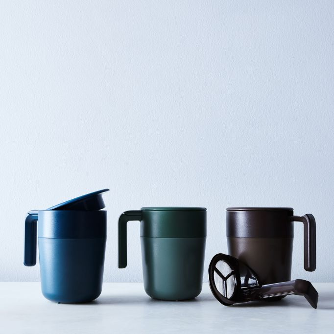 French press portable mug set.