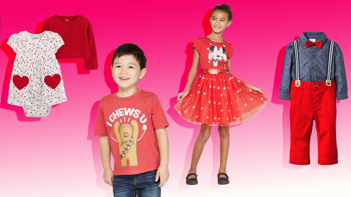 Valentine's Day Outfits Your Kids Will
